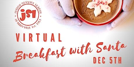 Virtual Breakfast with Santa tickets