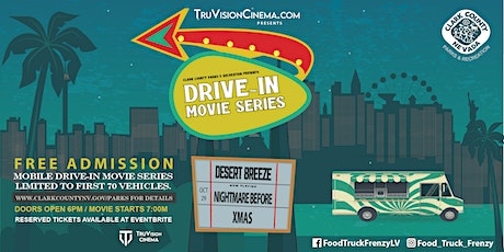 DRIVE IN MOVIE - NIGHTMARE BEFORE XMAS tickets