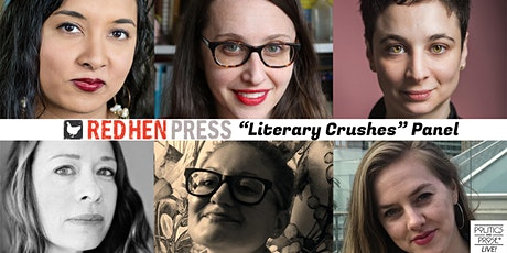 "P&P Live! Red Hen Press ""Literary Crushes"" Panel tickets"