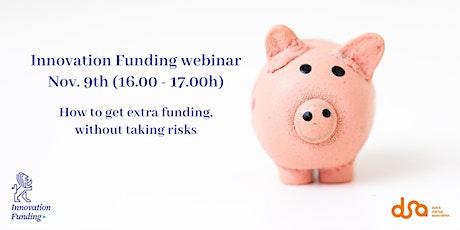 Innovation Funding webinar tickets