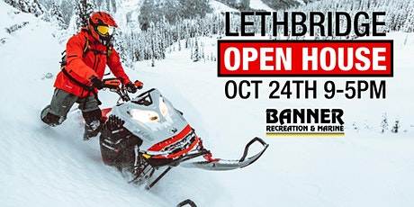 Banner Recreation & Marine Lethbridge Open House tickets