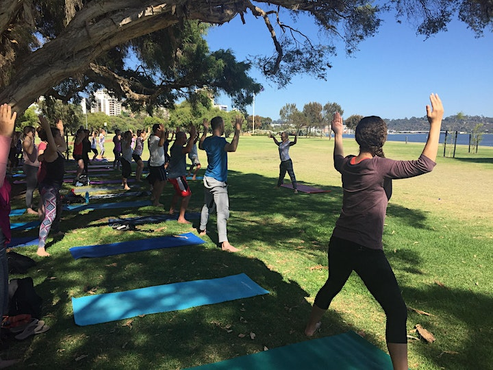 Morning Flow Yoga (by the River) image