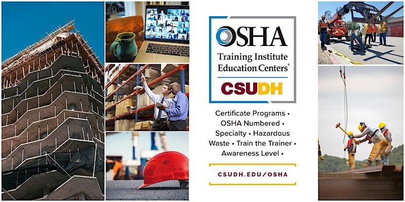 CSUDH OSHA Webinar
