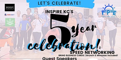 INSPIRE KC'S 5 Year Anniversary Celebration tickets