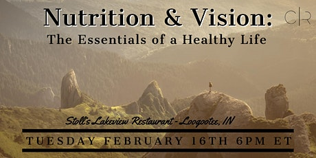 Nutrition & Vision: The Essentials of a Healthy Life tickets