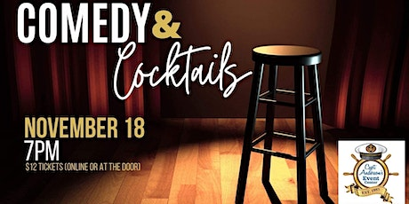 Comedy and Cocktails tickets