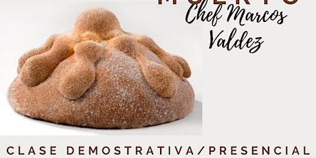 Clase Demo de Pan de Muerto con Marcos Valadez en Anna Ruíz Store boletos