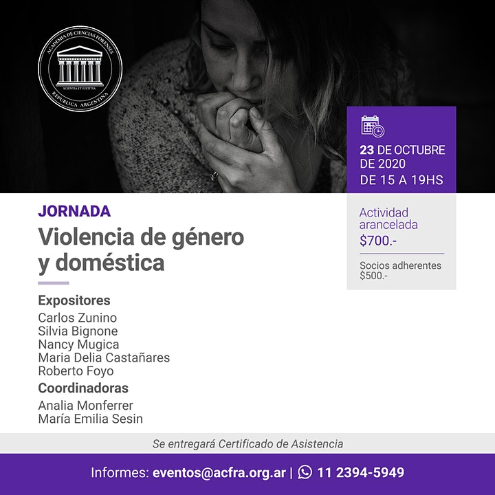 Imagen de Jornada sobre violencia de género y doméstica