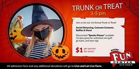 Trunk or Treat at Hilltop Fun Center! tickets