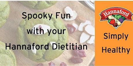 Spooky Halloween Fun with Hannaford Dietitians tickets