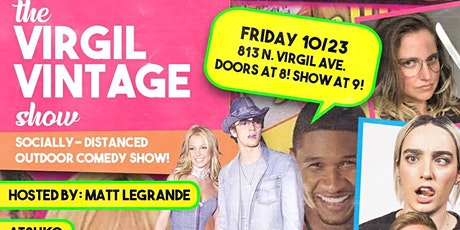 the VIRGIL VINTAGE comedy show tickets