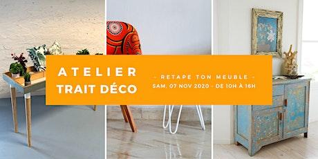 """Atelier """"Retape ton meuble"""" billets"""