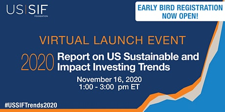 Virtual Launch: Report on US Sustainable and Impact Investing Trends 2020 tickets