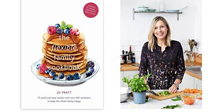 Celebration Supper Club to launch Jo Pratt's Flexible Family Cookbook tickets