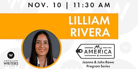My America: Lilliam Rivera tickets
