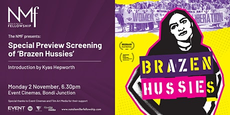 The NMF Presents a Special Screening of 'Brazen Hussies' tickets