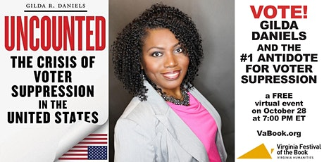 VOTE! — Gilda Daniels and the #1 Antidote for Voter Suppression tickets