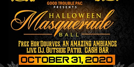 Good Trouble PAC Halloween Masquerade Ball tickets