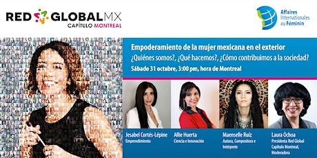 PANEL DE EMPODERAMIENTO DE LA MUJER MEXICANA EN EL EXTERIOR entradas