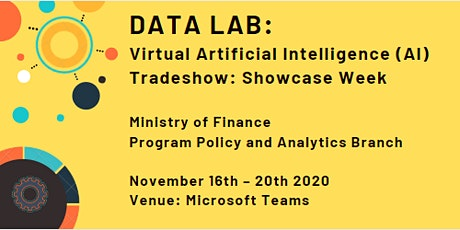 Virtual Artificial Intelligence (AI) Tradeshow: Showcase Week tickets