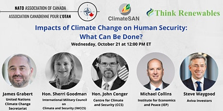 Impacts of Climate Change on Human Security: What Can be Done? tickets