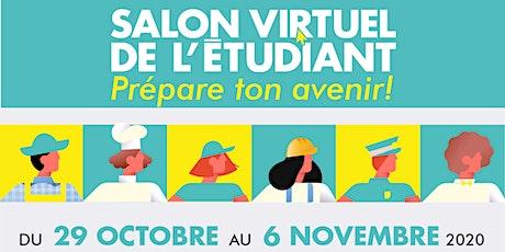 Salon virtuel de l'étudiant billets