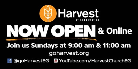 Harvest Church Sunday Service - 11:00 am tickets