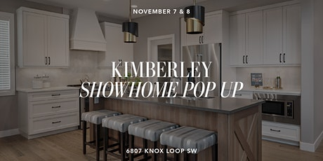 Kimberley Showhome Pop Up tickets