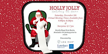 Holly Jolly Holiday at Home :: Personalized Virtual Visit & Story Time with ingressos