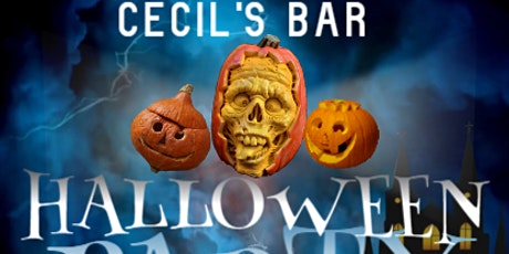 CECILS HALLOWEEN PARTY!!! tickets