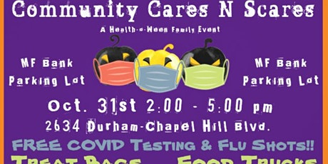Community Cares N Scares: A Health-o-Ween Family Event tickets