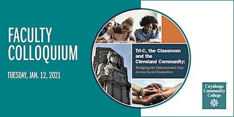 Tri-C Faculty Colloquium tickets