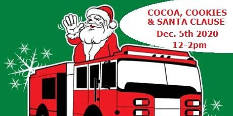 Cocoa, Cookies, and SANTA tickets