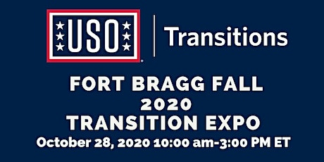 Fort Bragg Fall 2020 Virtual Transition Expo. tickets