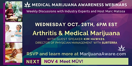 Arthritis & Medical Marijuana tickets