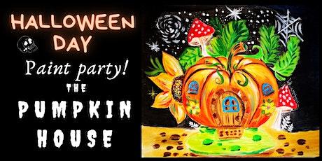 The Pumpkin House-Children Halloween Paint session. tickets