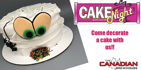 CakeNight  - Halloween  Mummy Cake - **NO MINORS tickets
