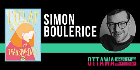 Atelier d'écriture avec Simon Boulerice tickets