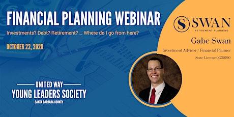 FREE WEBINAR - Financial Planning with Gabe Swan tickets
