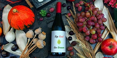 Sip Red, Go Green Goes Virtual tickets