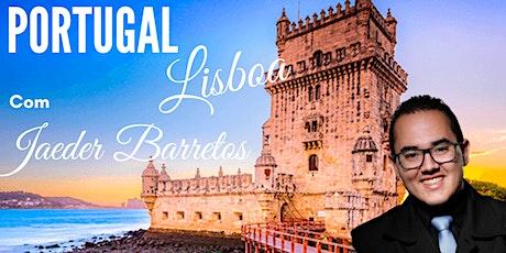 LISBOA - CURSO UM LUXO DE EXPERIÊNCIA COM JAEDER BARRETOS bilhetes