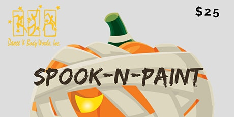 Spook-n-Paint tickets