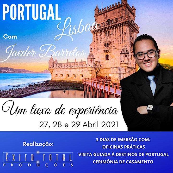Imagem do evento LISBOA - CURSO UM LUXO DE EXPERIÊNCIA COM JAEDER BARRETOS