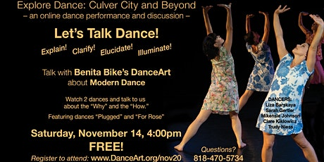 Let's Talk Dance! tickets