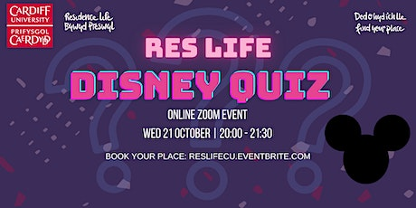 Res Life Disney Quiz tickets