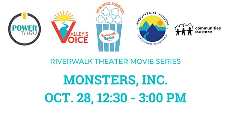 FREE: Monsters Inc @ Riverwalk Theater tickets