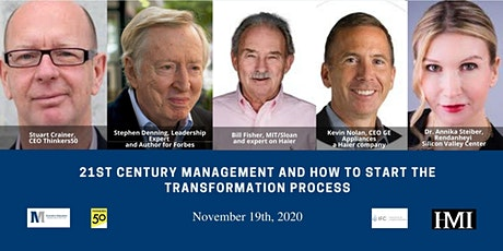 21st Century Management and how to start the transformation process tickets