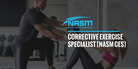 NASM Corrective Exercise Specialist tickets