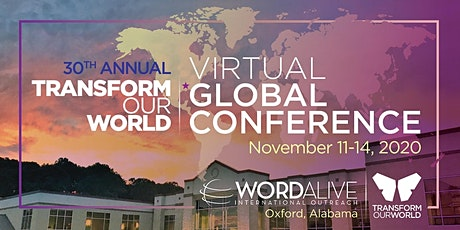 Transform Our World Global Conference - Local Colorado Meeting tickets