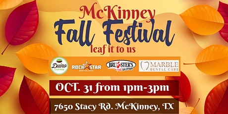 McKinney Fall Festival tickets